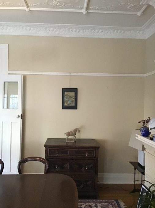 Before and After Interior Design Project. Dining Room in a Sydney Federation bungalow